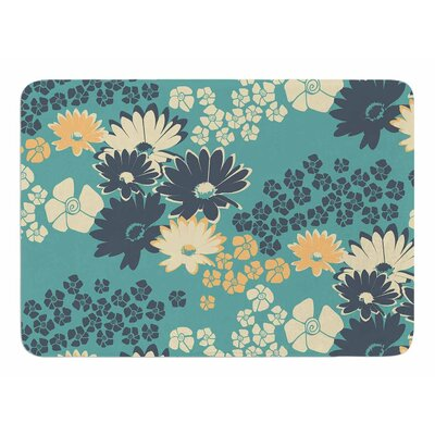 Color Bouquet by Zara Martina Manson Memory Foam Bath Mat