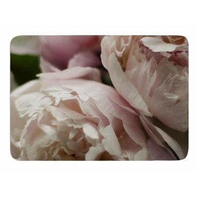 Peonies by Cristina Mitchell Memory Foam Bath Mat
