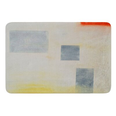 Map To Childhood by Cathy Rodgers Memory Foam Bath Mat