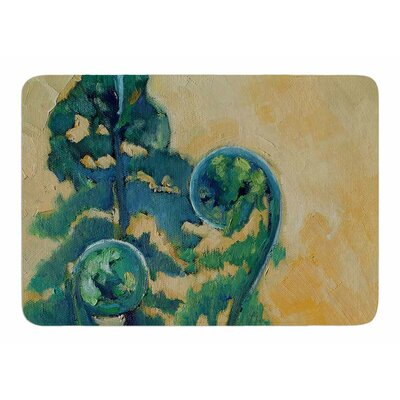 Fiddleheads by Carol Schiff Memory Foam Bath Mat