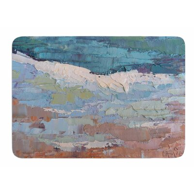On the Beach by Carol Schiff Memory Foam Bath Mat