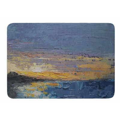 Caribbean Sunset by Carol Schiff Memory Foam Bath Mat