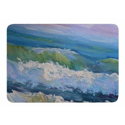 The Pastel Sea by Carol Schiff Memory Foam Bath Mat