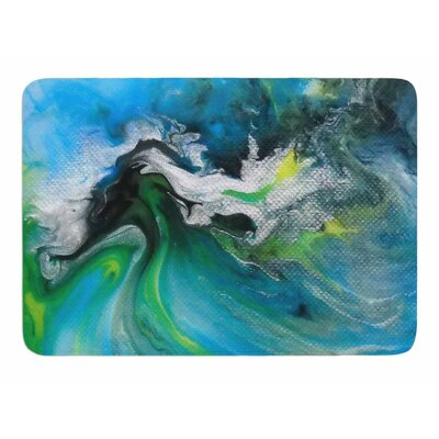 Abstract by Carol Schiff Memory Foam Bath Mat