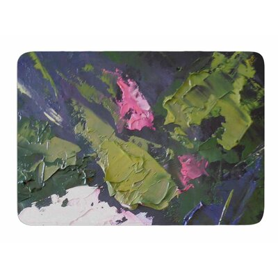 Textured Rose by Carol Schiff Memory Foam Bath Mat