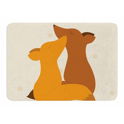 Foxy Love by NL Designs Memory Foam Bath Mat