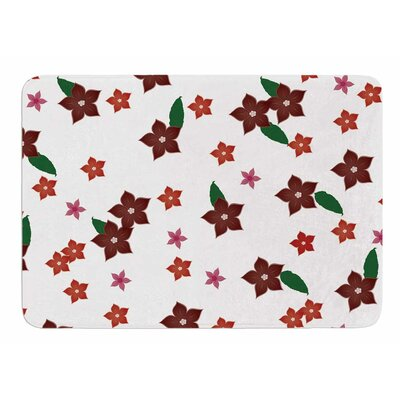 Holiday Floral by NL Designs Memory Foam Bath Mat