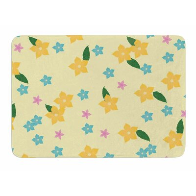 Tropical Flowers by NL Designs Memory Foam Bath Mat