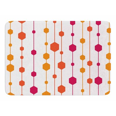 Warm Dots by NL Designs Memory Foam Bath Mat