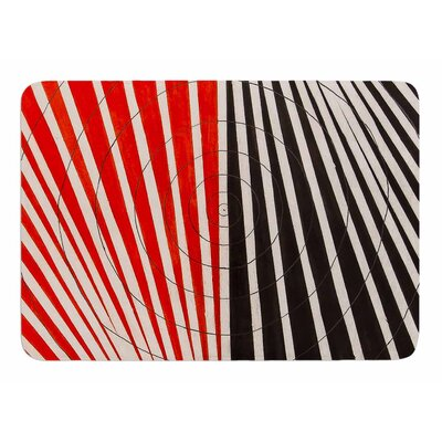 Optical Illusions by NL Designs Memory Foam Bath Mat