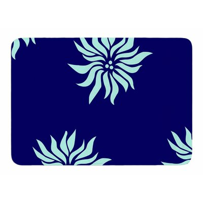 Snow Flowers by NL Designs Memory Foam Bath Mat