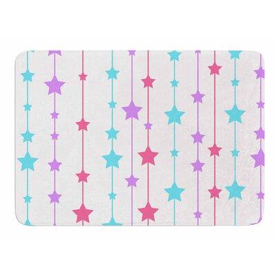 Pastel Stars by NL Designs Memory Foam Bath Mat