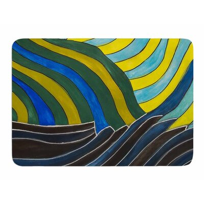 Desert Waves by NL Designs Memory Foam Bath Mat
