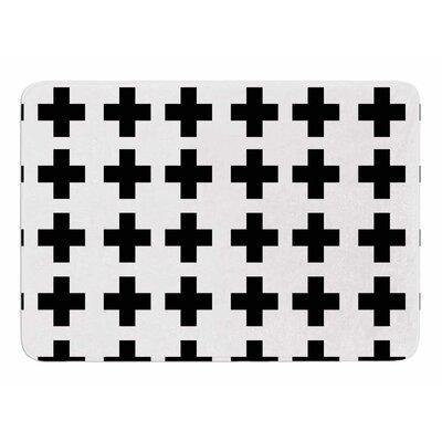 Swedish Cross by Suzanne Carter Memory Foam Bath Mat