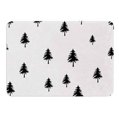 Pine Tree by Suzanne Carter Memory Foam Bath Mat
