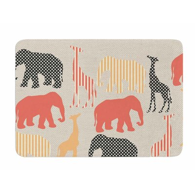 Zoo by Suzanne Carter Memory Foam Bath Mat
