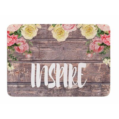 Inspire by Suzanne Carter Memory Foam Bath Mat