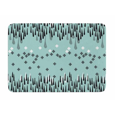 Drop of Memphis by Zara Martina Manson Memory Foam Bath Mat