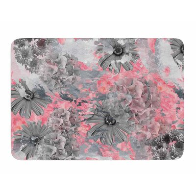 Floral Blush by Zara Martina Manson Memory Foam Bath Mat