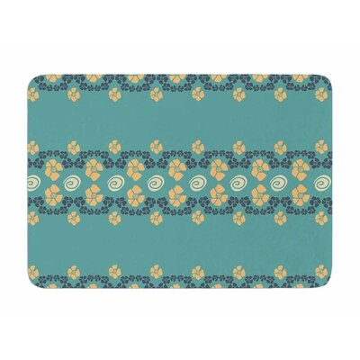 Flora Formations by Zara Martina Manson Memory Foam Bath Mat