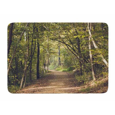 Forest Light by Ann Barnes Memory Foam Bath Mat
