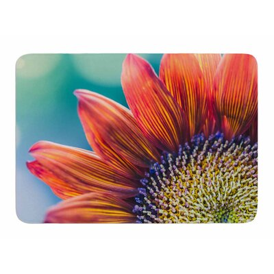 Fire and Ice by Ann Barnes Memory Foam Bath Mat