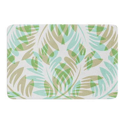 Winter Fern by Alison Coxon Memory Foam Bath Mat