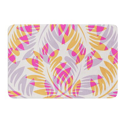 Summer Fern by Alison Coxon Memory Foam Bath Mat