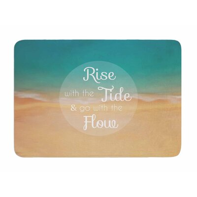 Rise with the Tide by Alison Coxon Memory Foam Bath Mat