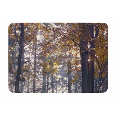 Autumn Sunbeams by Alison Coxon Memory Foam Bath Mat