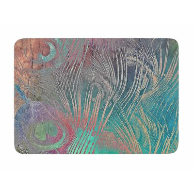 Indian Summer by Alison Coxon Memory Foam Bath Mat