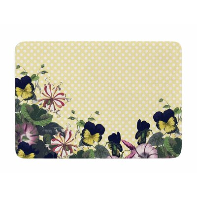 Polka Dot by Alison Coxon Memory Foam Bath Mat