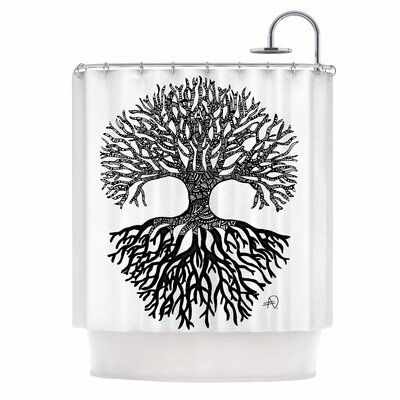 The Tree of Life by Adriana De Leon Shower Curtain
