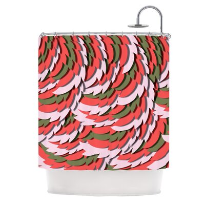 Wings by Akwaflorell Shower Curtain