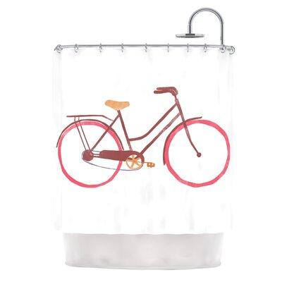 Bike by Alik Arzoumanian Shower Curtain