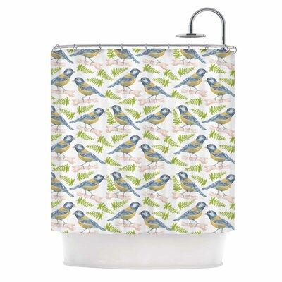 Bird by Alisa Drukman Shower Curtain