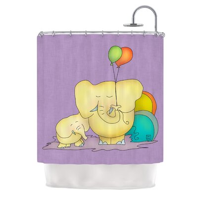 Party Time by Carina Povarchik Shower Curtain