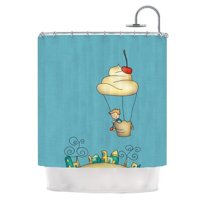 Sweet World by Carina Povarchik Shower Curtain
