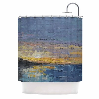 Caribbean Sunset by Carol Schiff Shower Curtain