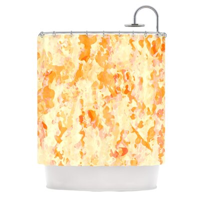 Explosion by CarolLynn Tice Shower Curtain