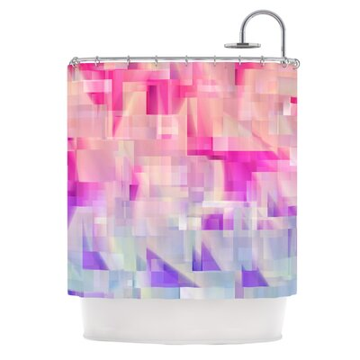 Winter Flow by Gabriela Fuente Shower Curtain