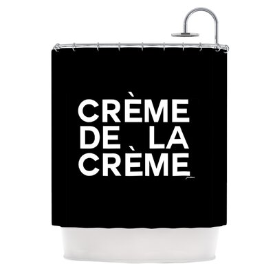 Creme De La Creme by Geordanna Cordero-Fields Shower Curtain