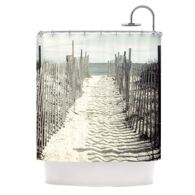 Welcome to the Beach by Jillian Audrey Shower Curtain