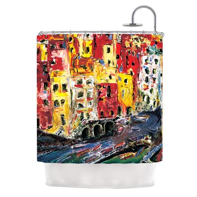Cinque Terre by Josh Serafin Shower Curtain