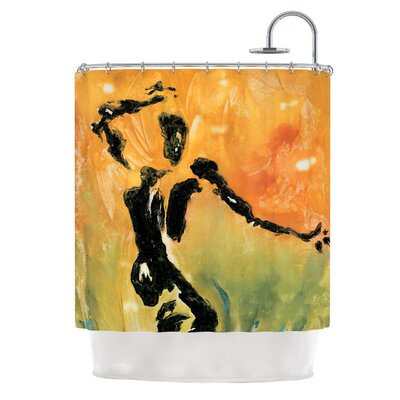 Hangin 5 by Josh Serafin Shower Curtain