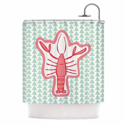 Langosta by MaJoBV Lobster Shower Curtain