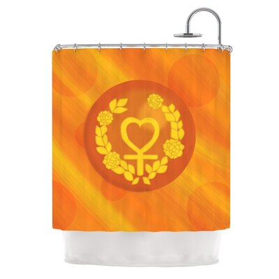 Venus by NL Designs Shower Curtain