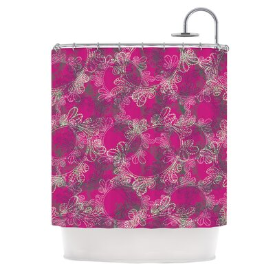 Jaipur Berry by Patternmuse Shower Curtain