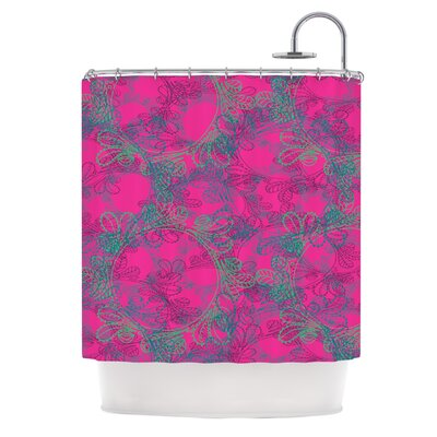 Jaipur Hot by Patternmuse Shower Curtain