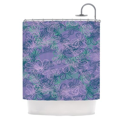 Jaipur Juniper by Patternmuse Shower Curtain